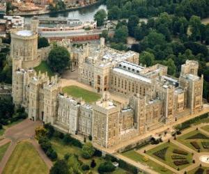 Puzzle de El Castillo de Windsor, Inglaterra