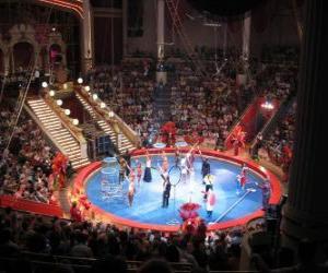 Puzzle de El circo