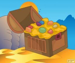 Puzzle de El cofre del Tesoro de Aladdin