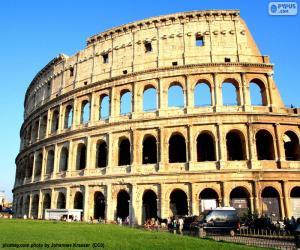 Puzzle de El Coliseo, Roma, Italia