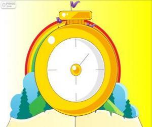 Puzzle de El conejo blanco tiene un reloj de bolsillo