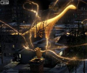 Puzzle de El Creador de Sueños, el personaje mudo de película El Origen de los Guardianes
