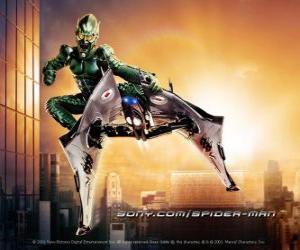 Puzzle de El Duende Verde es un supervillano considerado uon de los archienemigos de Spiderman