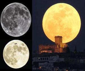 Puzzle de El esplendor de la súper Luna (19 de marzo 2011)