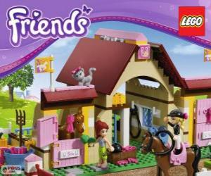 Puzzle de El Establo de Heartlake City, Lego Friends