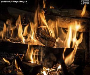 Puzzle de El fuego