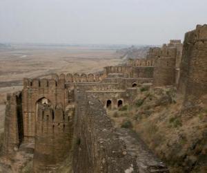 Puzzle de El Fuerte de Rhotas, Pakistán