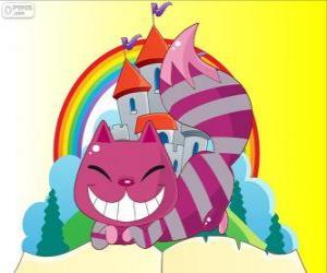 Puzzle de El gato de Cheshire aparece y desaparece
