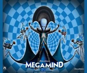 Puzzle de El gran Megamind o Megamente