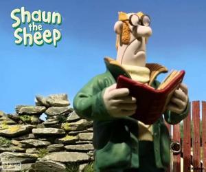 Puzzle de El granjero de Shaun