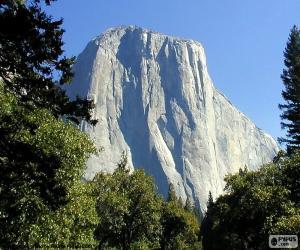 Puzzle de El Half Dome, Yosemite, EUA