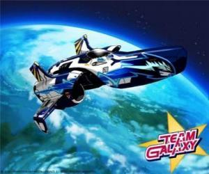 Puzzle de El Hornet es la nave espacial del Team Galaxy