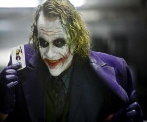 Puzzle de El Joker, el Comodín o el Guasón es el gran enemigo de Batman y uno de los villanos más conocidos