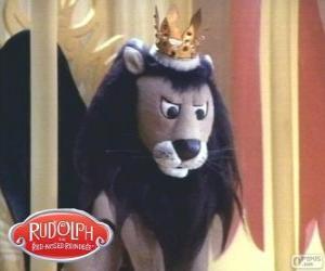 Puzzle de El león volador, King Moonracer
