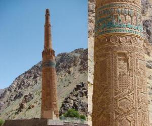 Puzzle de El minarete de Jam, Afganistán