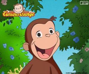 Puzzle de El mono Jorge