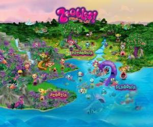 Puzzle de El mundo de los Zoobles