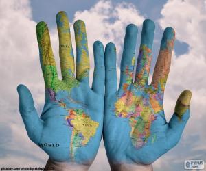 Puzzle de El mundo en nuestras manos