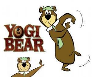 Puzzle de El oso Yogui vive grandes aventuras en el Parque Jellystone