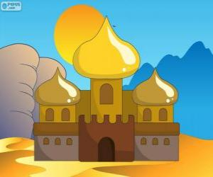 Puzzle de El palacio de Aladín y la princesa