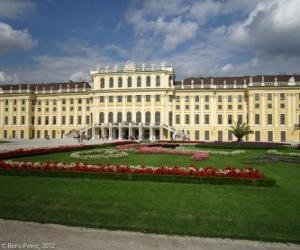 Puzzle de El Palacio de Schönbrunn, Viena, Austria