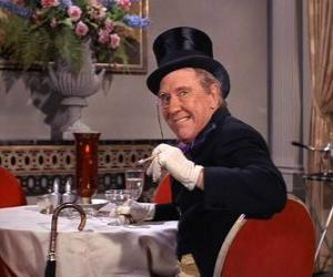 Puzzle de El Pingüino, el caballero del crimen es uno de los enemigos de Batman