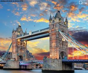 Puzzle de El Puente de la Torre, Inglaterra