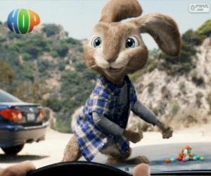 Puzzle de El rebelde conejo de Pascua, EB