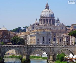 Puzzle de El Vaticano, Roma, Italia