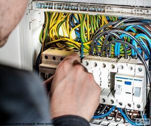 Puzzle de Electricista, cuadro eléctrico