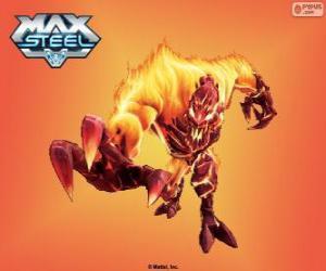 Puzzle de Elementor Fuego, Max Steel