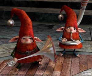 Puzzle de Elfos. El Origen de los Guardianes