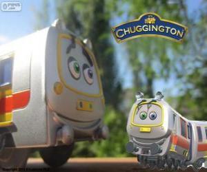 Puzzle de Emery, el tren rápido de Chuggington
