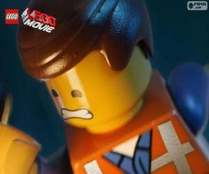 Puzzle de Emmet de La gran aventura Lego, La Lego Película