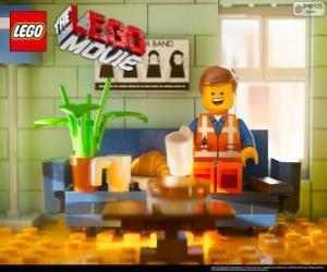 Puzzle de Emmet, el protagonista de la película Lego