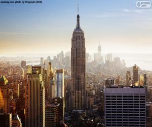 Puzzle de Empire State Building, Nueva York