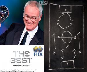 Puzzle de Entrenador del Año FIFA 2016