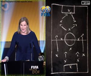 Puzzle de Entrenador Femenino FIFA 15