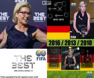 Puzzle de Entrenador Femenino FIFA 16