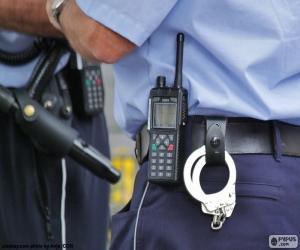 Puzzle de Equipamiento policía