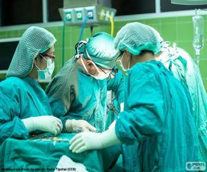 Puzzle de Equipo médico quirúrgico