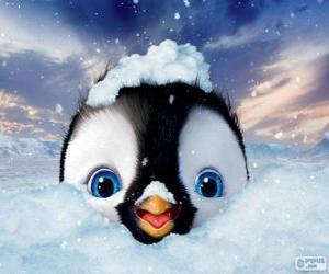Puzzle de Erick es el personaje principal de Happy Feet Two