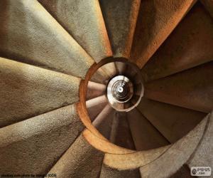 Puzzle de Escalera de caracol