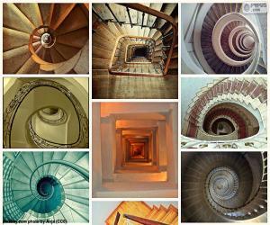 Puzzle de Escaleras