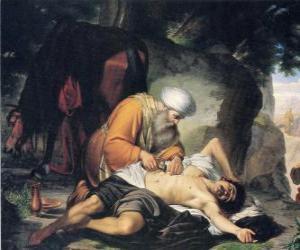 Puzzle de Escena de la Parábola del Buen Samaritano