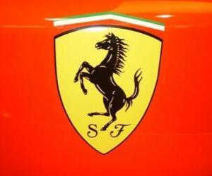 Puzzles De Escudo De Ferrari Rompecabezas Para Imprimir