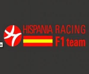Puzzle de Escudo de Hispania Racing