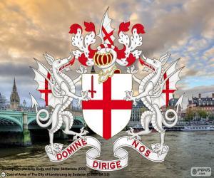 Puzzle de Escudo de la City de Londres