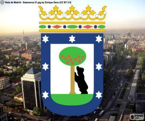 Puzzle de Escudo de Madrid