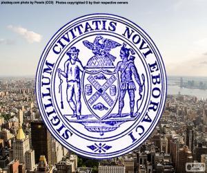 Puzzle de Escudo de Nueva York